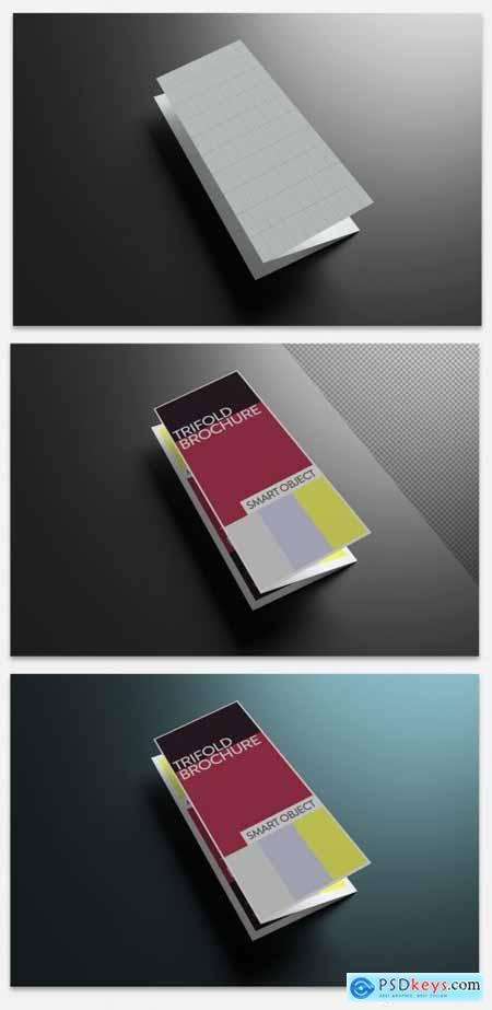 Trifold Brochure Mockup 313138252