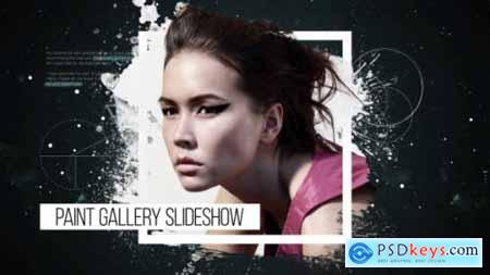 Videohive Paint Gallery Slideshow 18848825