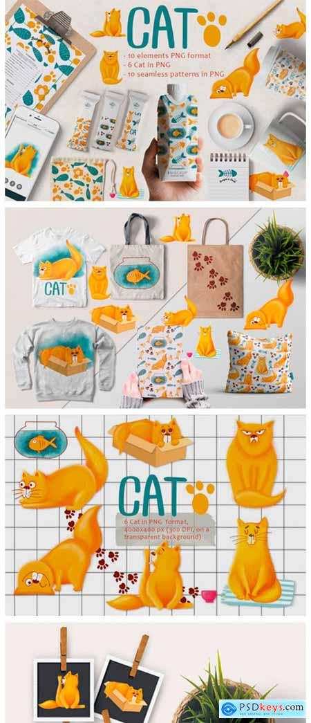 Cute Cat Patterns 2129834