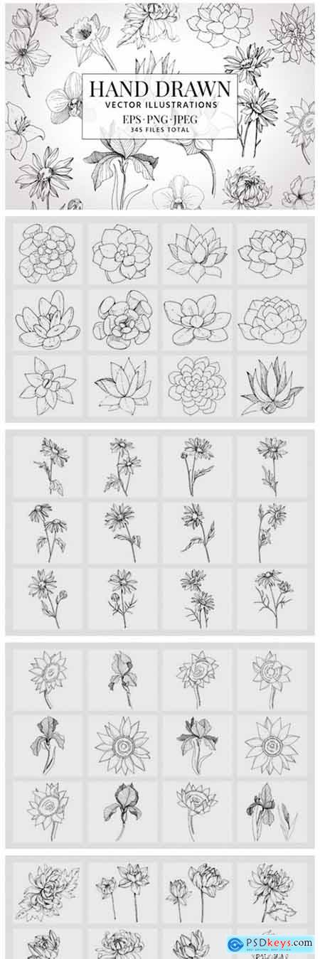 Vector Illustration of Freesia Flower 2126510