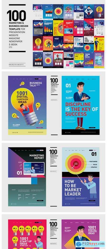 100 Marketing & Business Design 2296524