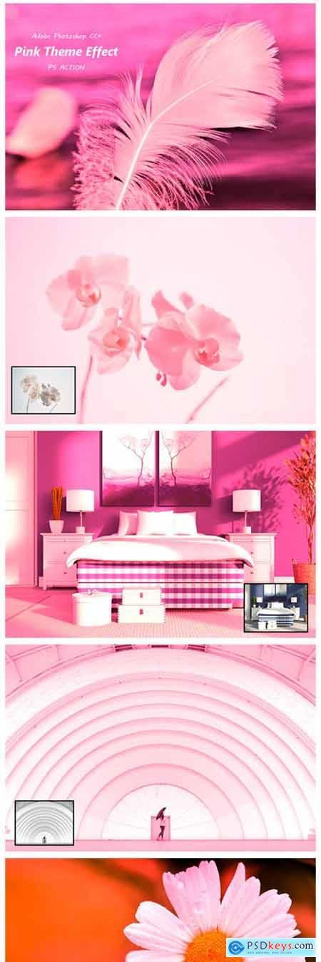 Pink Theme Effect Ps Action 2127520