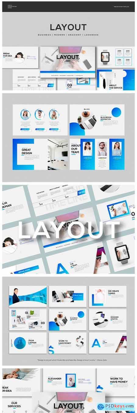 Layout - Keynote Template 2350817