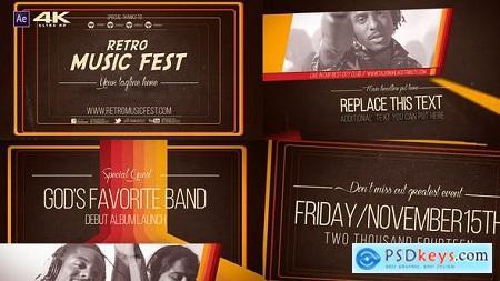 Videohive Retro Music Festival V2 7814088