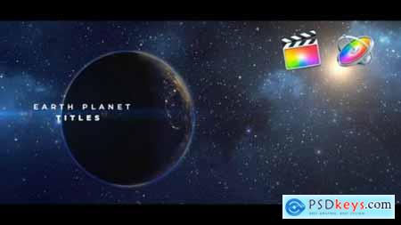 Videohive Earth Planet Titles 25373227
