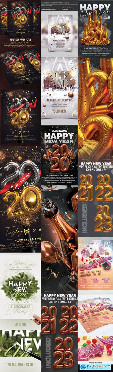 Flyer Template Vip New Year Part 4 6-JAN-2020 PREVIEW