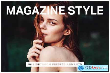 50 Magazine Lightroom Presets & LUTs 4429293