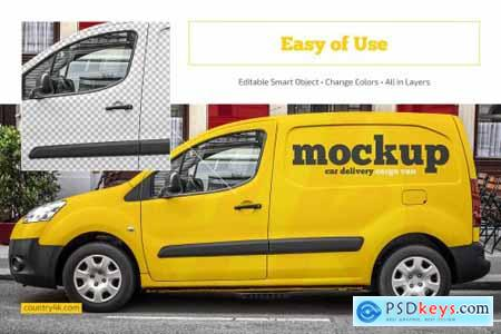 Car Mockup Set 4423561
