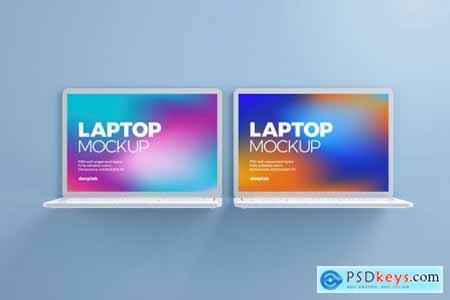 Macbook Pro Clay Mockup set 4430877
