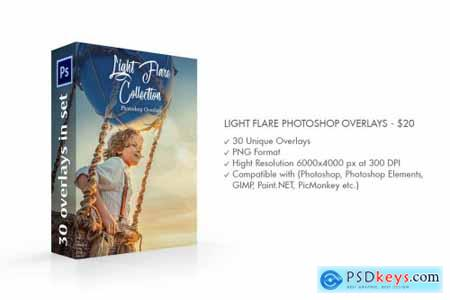 Light Flare Photoshop Overlays 4298685