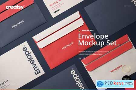 Envelope Mockup Set 01 4426020