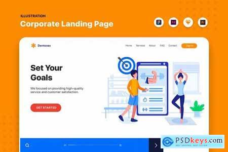 Banner & Landing Pages Pack