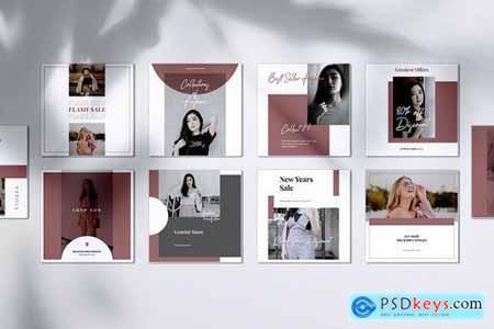 GEMINI Fashion Store Instagram & Facebook Post