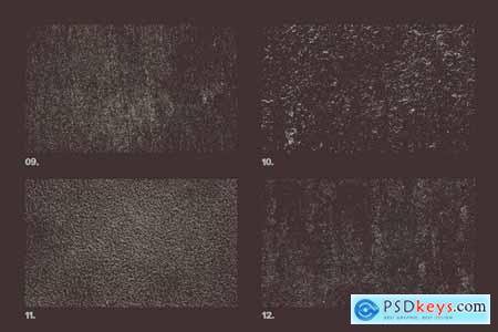 Vector Plaster Textures x12