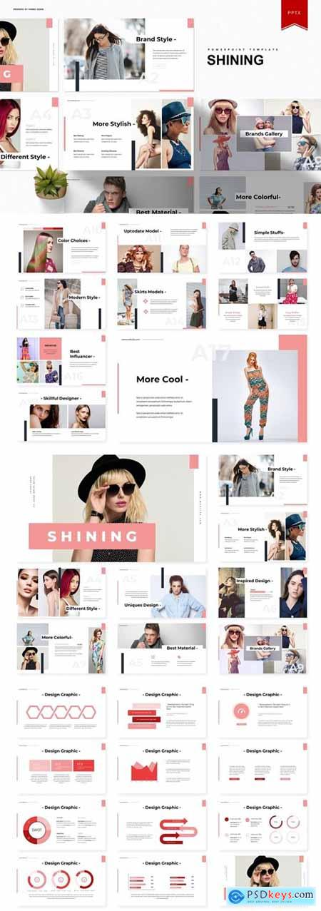 Shining Powerpoint, Keynote and Google Slides Templates