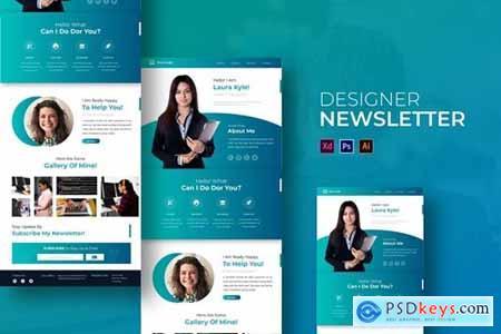 Designer - Newsletter Template