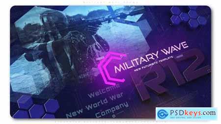 Videohive Military Wave Techno Promo 25351172