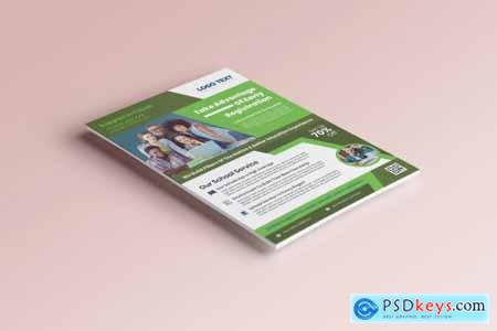 Admission Flyer Templates 4409476