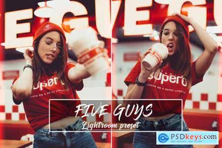 Five Guys Lightroom Preset 4394186