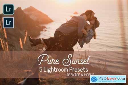 Pure Sunset Lightroom Presets 4400317