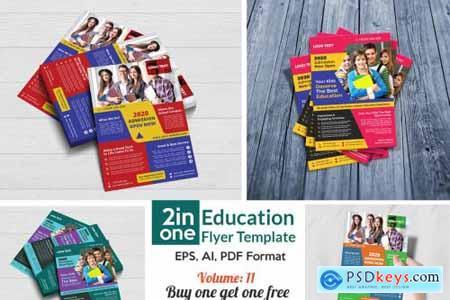 School Admission Flyer Templates 4408404
