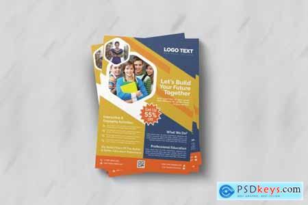 School Admission Flyer Templates 4408446
