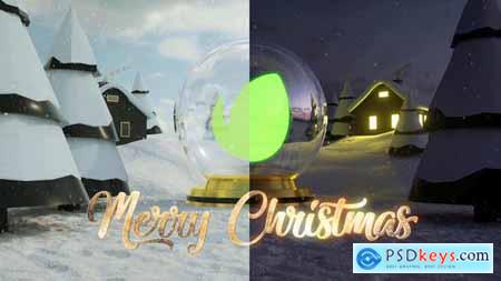 Videohive Christmas Logo Intro 25107889