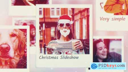 Videohive Christmas Photo Frames Slideshow 25155369