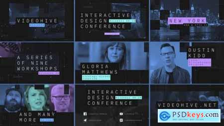 Videohive Interactive Design Conference Event Promo 25399411