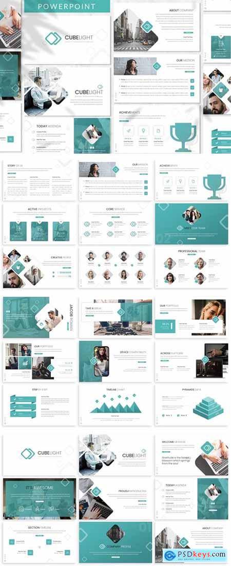Cubelight - Business Powerpoint Template