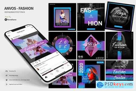 Anvos - Fashion and Activity Instagram Post HR