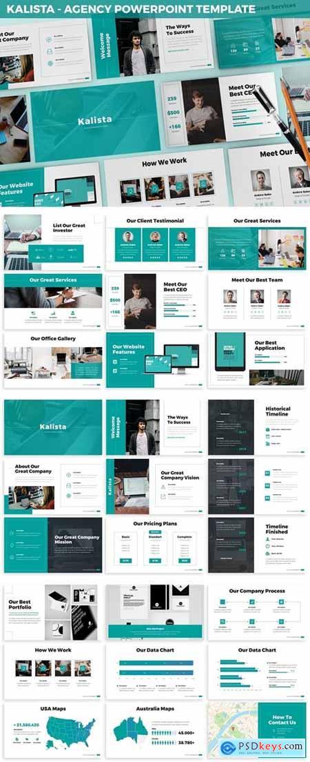 Kalista - Agency Powerpoint Template