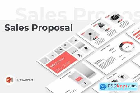 Sales Proposal PowerPoint and Keynote Template