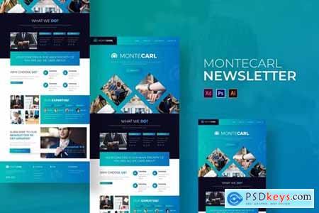 Montecarl - Newsletter Template