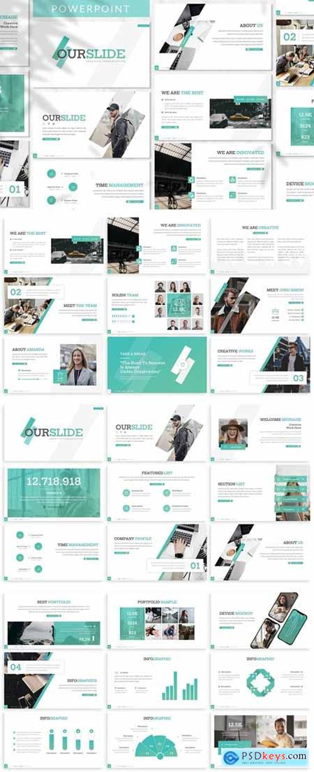 Ourslide - Business Powerpoint Template