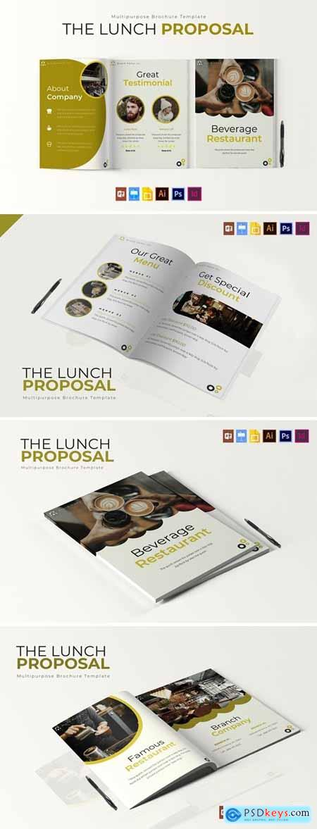 The Lunch - Brochure Template