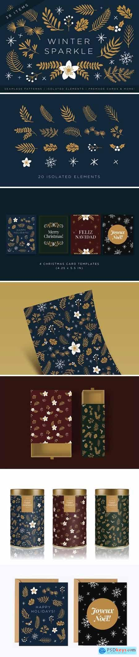 Elegant Christmas Graphic Set 2427936