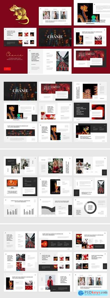 Chanie - Chinese New Year Powerpoint, Keynote and Google Slides Templates