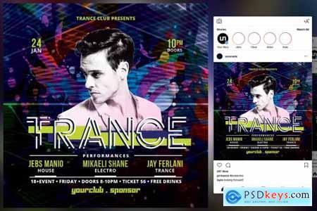 Trance Flyer 4443873