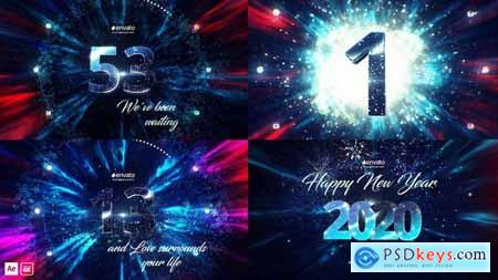 Videohive Fantastic New Year Countdown 25270505