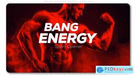 Videohive Bang Energy Sport Opener 25395721