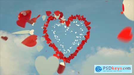 Videohive Valentines Day Greeting Card 25392101