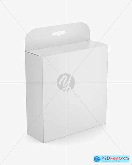 Paper Box Mockup 53448
