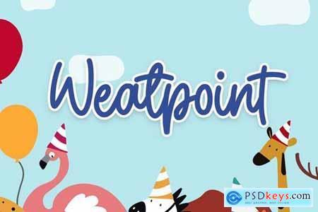 Weatpoint - Playful Script Font 4441949