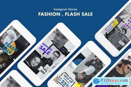Creative Fashion Sale Instagram Stories