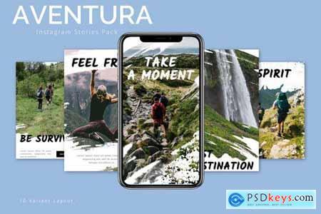 Aventura - Instagram Story Pack