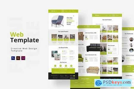 Furniture Web Template