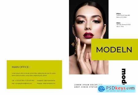 Modeln Brochure Template