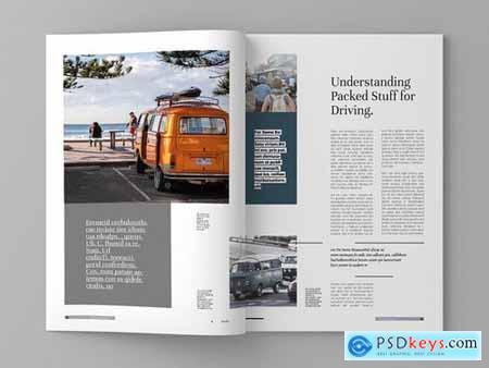 Pazefun Magazine Template
