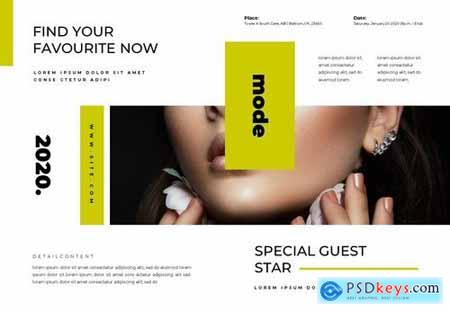 Modeln Brochure Template